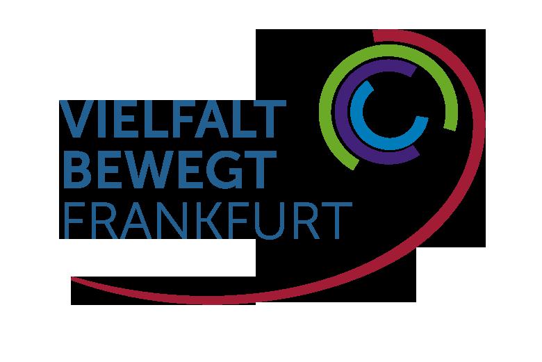 "Logo ""Vielfalt-bewegt-Frankfurt"" der Stadt Frankfurt am Main"